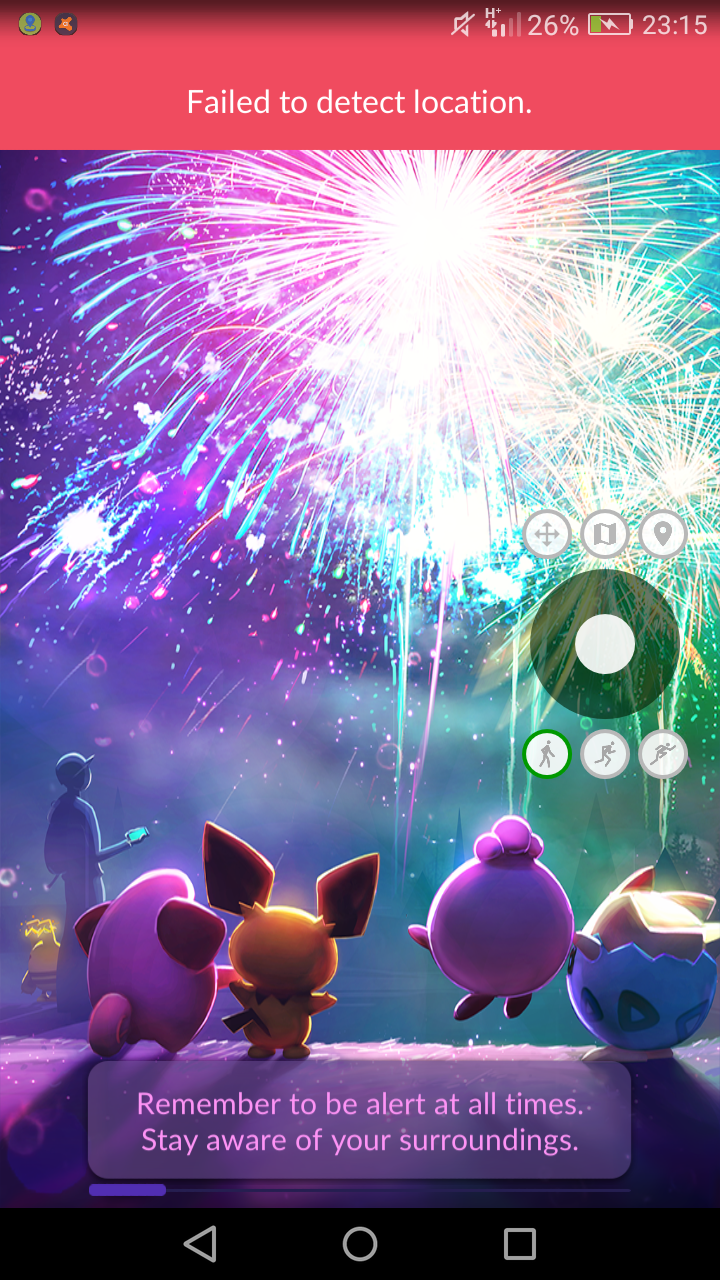 Błąd Failed to detect location - Pokemon Go - Dyskusje